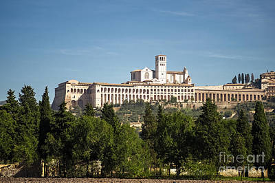 Basilica Of San Francesco D'assisi Print by Prints of Italy