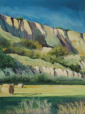 Bales Painting - Basilicata by Anne Parker