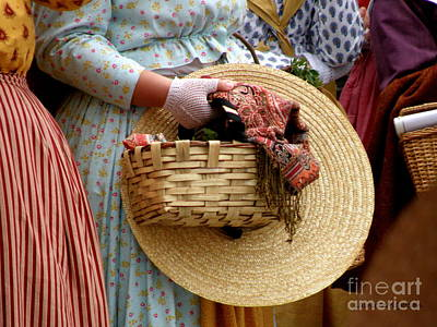 Basket In Hand Print by Lainie Wrightson