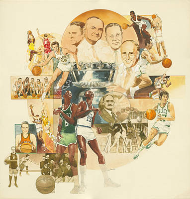 Basketball Original by Don  Langeneckert