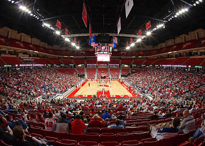 Big Ten Conference Photograph - Basketball Game by Todd Klassy