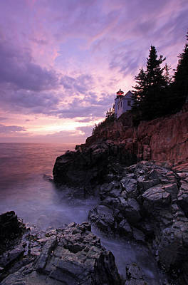 Lighthouses Photograph - Bass Harbor Head Light by Juergen Roth