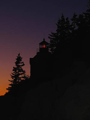 Lighthouses Photograph - Bass Harbor Lighthouse by Juergen Roth