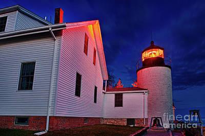 Bass Harbor Lighthouse Maine Print by John Greim