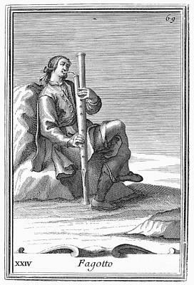 Bassoon, 1723 Print by Granger