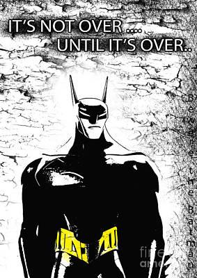 Movies Digital Art - Bat  - Beware The Batman by Prar Kulasekara