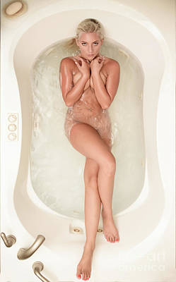 Washing Hair Photograph - Bath Tub by Jt PhotoDesign