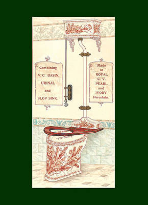 Bathroom Picture Five Print by Eric Kempson