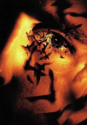 Horror Digital Art - Batman Begins 2005 by Caio Caldas