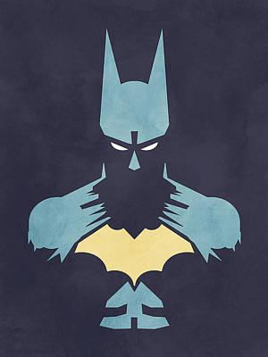 Batman Print by Jason Longstreet