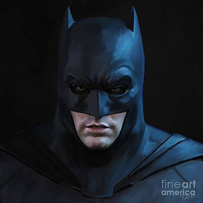 Batman Digital Art - Batman by Paul Tagliamonte