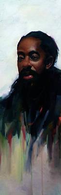 Schmid Painting - Batten by Kai Lun Qu