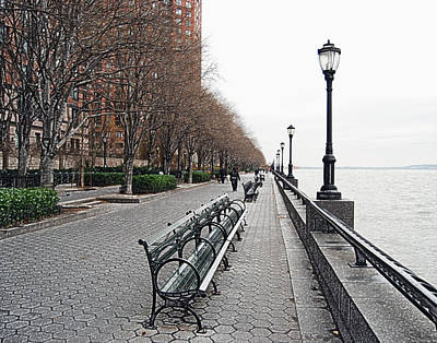 Mgp Photograph - Battery Park by Michael Peychich