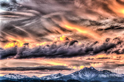 Photograph - Battle In The Sky by Greg Summers
