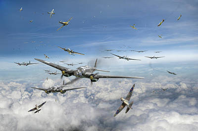 Battle Of Britain Day  Print by Gary Eason