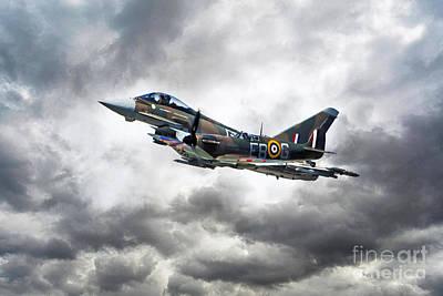 Spitfire Digital Art - Battle Of Britain Duo by J Biggadike