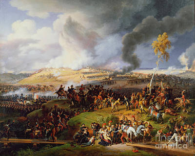 Moscow Painting - Battle Of Moscow by Celestial Images