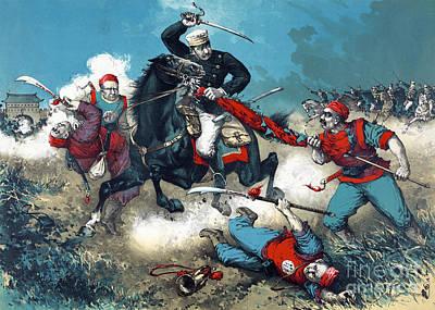 Boxer Rebellion Photograph - Battle Of Tientsin, Boxer Rebellion by Science Source