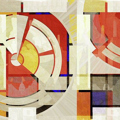 Abstract Photograph - Bauhaus One by Big Fat Arts
