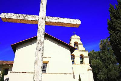 Mission San Juan Bautista Photograph - Bautista Cross by Mark Mickelsen