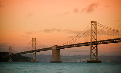 Bay Bridge Print by Mandy Wiltse