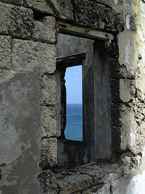 Ruins Mixed Media - Bay Window by Paul Barlo