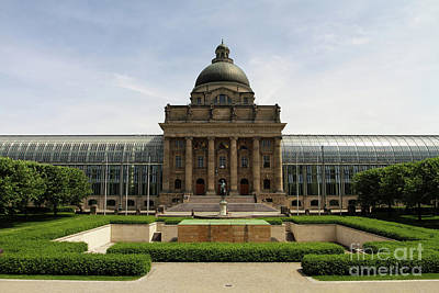 Bavarian Photograph - Bayerische Staatskanzlei by Stephen Smith