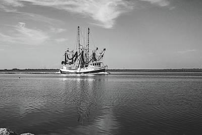 Photograph - Bayou Shrimper by Scott Pellegrin