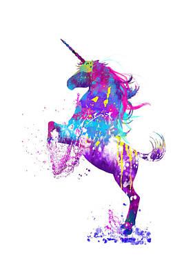 Digital Art - Be A Unicorn by MelOn Design