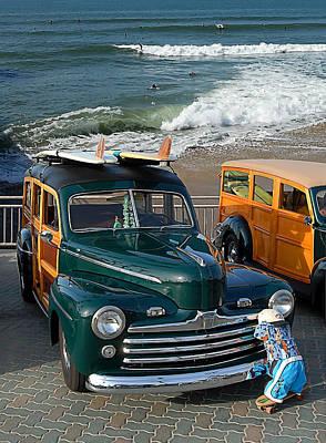 Woodie Digital Art - Beach And Wood by Ron Regalado