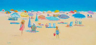 Beach Art - Every Summer Has A Story Print by Jan Matson