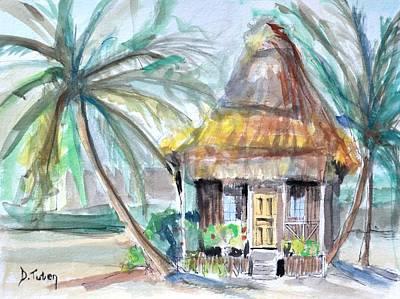 Beach Bungalow Original by Donna Tuten