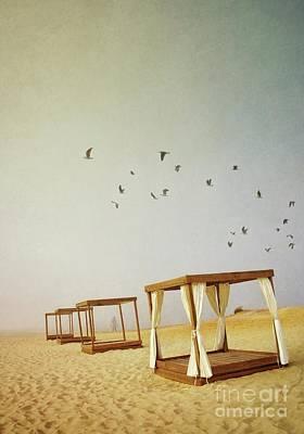 Cage Photograph - Beach Cubes by Carlos Caetano