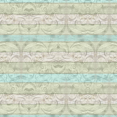 Beach Driftwood Wood Swirl Striped Pattern Print by Audrey Jeanne Roberts