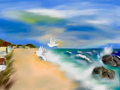 Beach Energy Original by Frank Bright