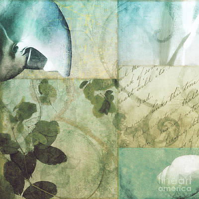 Beach Expressions II Print by Mindy Sommers