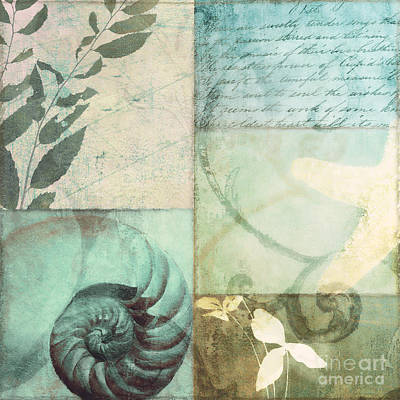Beach Expressions Print by Mindy Sommers
