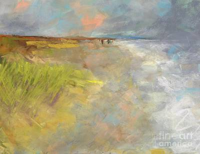 Beach Grasses Print by Frances Marino