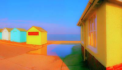 Beach Houses Y Original by Jan Faul