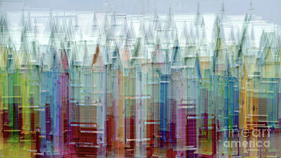 Icm Photograph - Beach Hut Medley by Richard Thomas
