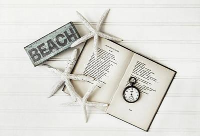 Beach Love Print by Kim Hojnacki