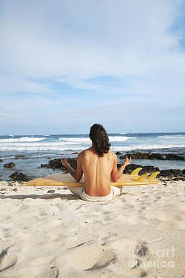 Beach Meditation Print by Brandon Tabiolo - Printscapes