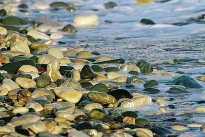 Beach Pebbles Print by Stelios Kleanthous