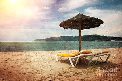 Bliss Photograph - Beach Shader by Carlos Caetano