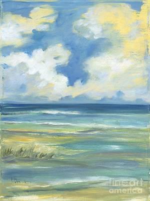 Beach Simplicity Print by Paul Brent