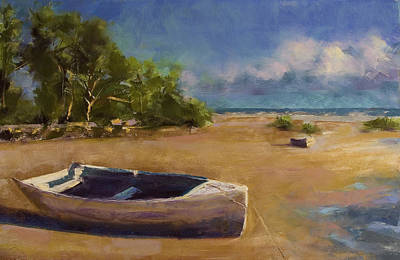 Beached Print by David Patterson