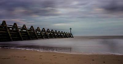 Beachscape Print by Martin Newman