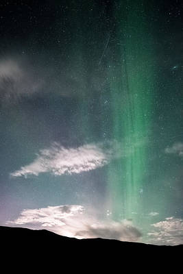 Moon Beams Photograph - Beam Me Up Scotty by Tor-Ivar Naess
