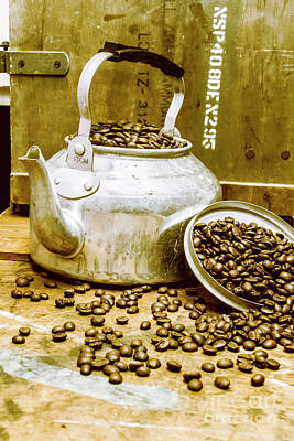 Messy Photograph - Bean Shop Cafe by Jorgo Photography - Wall Art Gallery