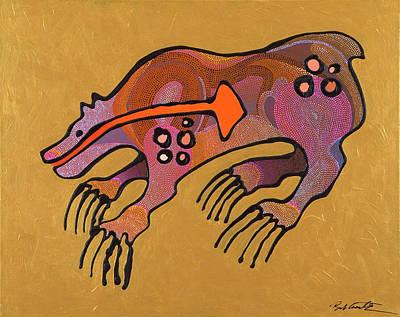 Bear Deity Original by Bob Coonts